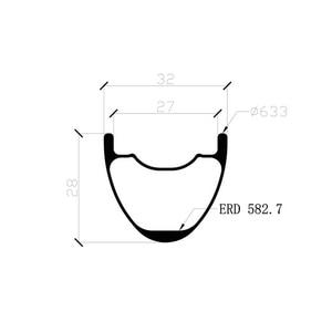 Image 2 - LIENGU 1280g boost 29er MTB XC 32mm hookless ללא פנימית פחמן גלגלים Yuniper ישר 110mm 148mm SHN XD XX1 11s 12s