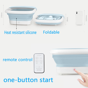 Image 5 - New Foot spa Massager Electric foot bath spa device electric heating temperature foot massage Machine health care reflexology