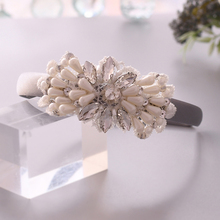 TRiXY S35-FG Bridal Headband for Wedding Baroque Headband Wedding Hair Accessories Party Wedding Female Hair Jewelry Hair Hoop