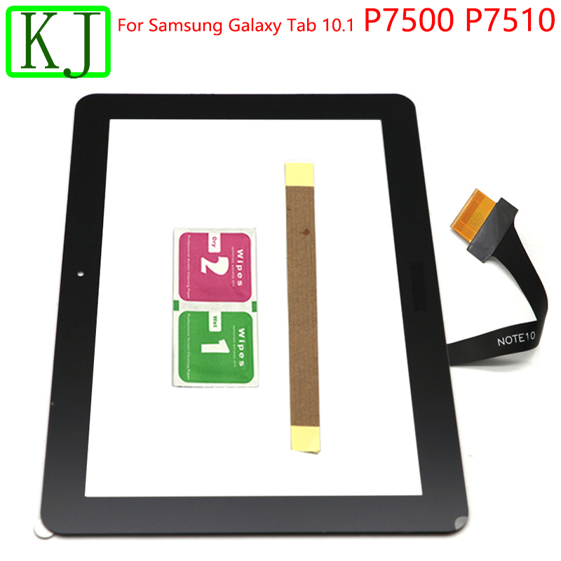 For Samsung Galaxy Tab 10.1 P7510 P7500 Table Touch Screen Panel Digitizer Outer Sensor Glass