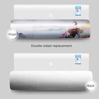 Регулируемая Крышка для кондиционера гибкий кондиционер перегородка против прямого выдувания лобового стекла для дома спальни