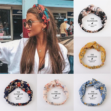 Hair-Bands Cross-Turban Boho Girls Vintage Summer Women Gift