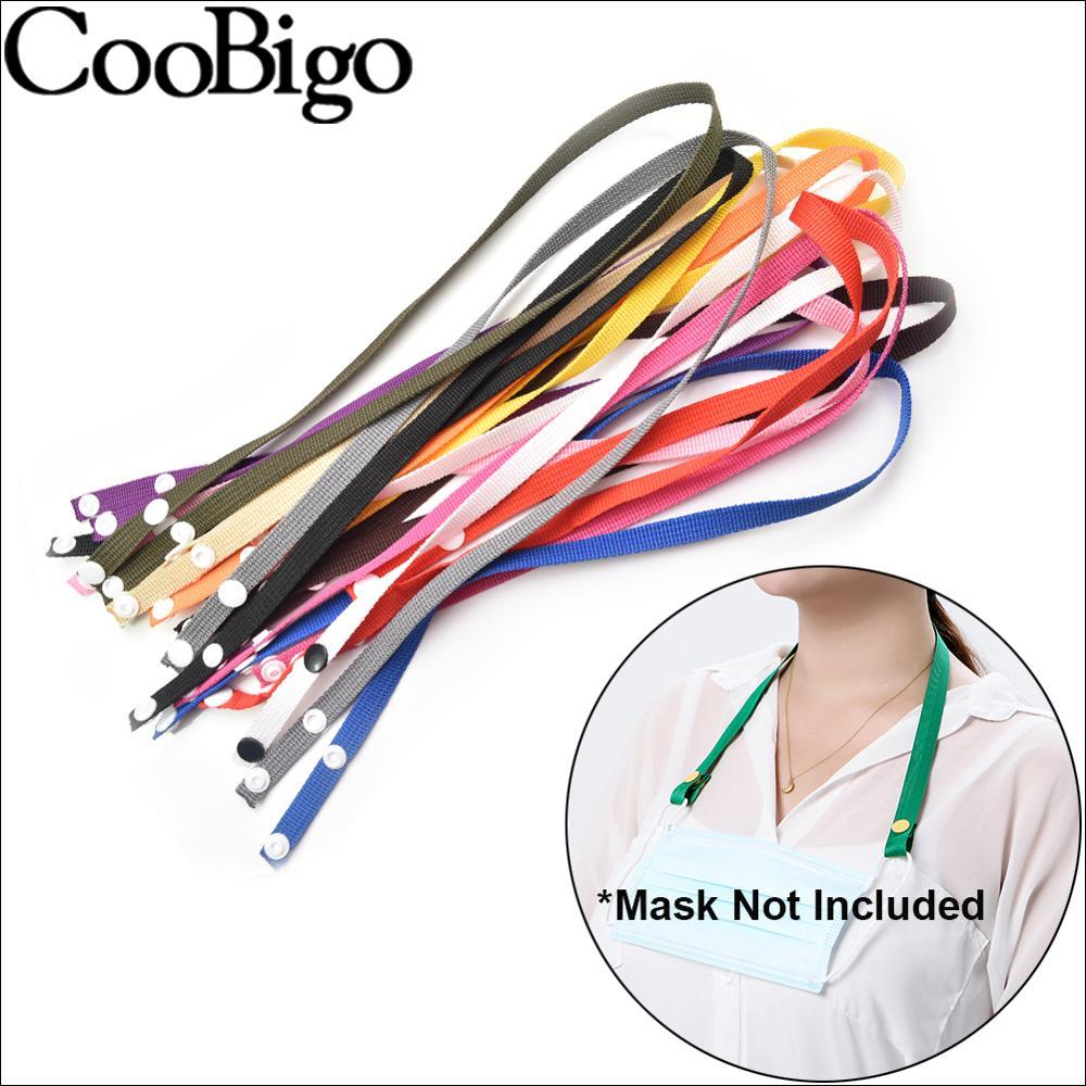1/5/10 pçs 62cm máscaras pendurado corda facesmask cordão óculos corrente masque extensão orelha titular cinta para crianças adulto