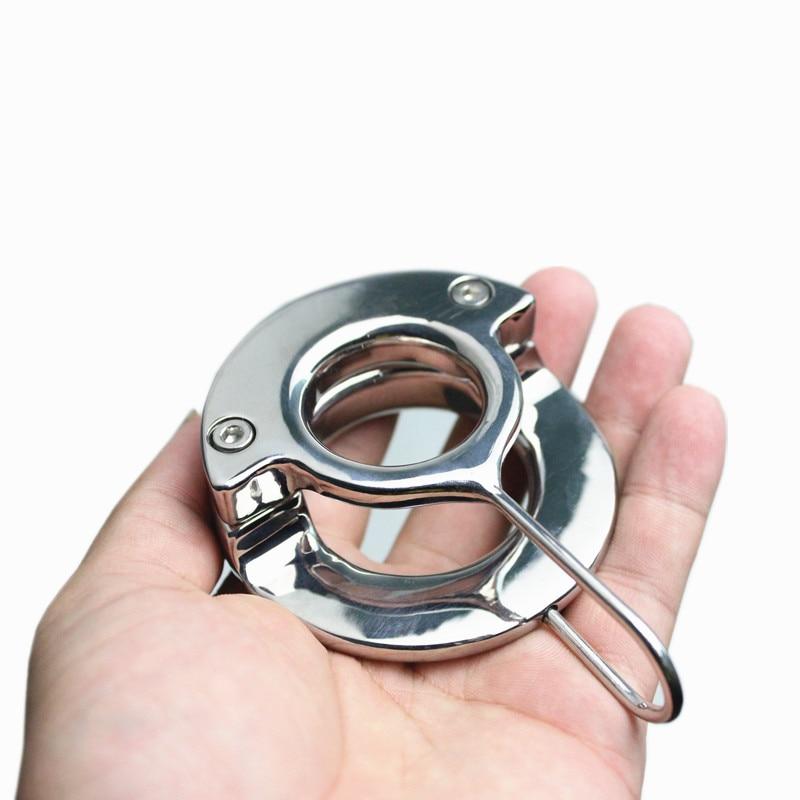 alta qualità ottimi prezzi vendita a buon mercato usa Nuovo Design Scrotale Ciondolo Peso cuscinetto Anello di Metallo ...