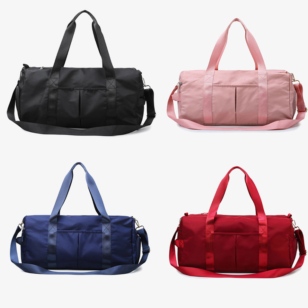 H346713589c734feea92595906b8d361dx - Waterproof Woman Sport Bag For Fitness Outdoor Pink Gym Bag Men Nylon Clothing Fitness Bag Girls Training Travel Handbags
