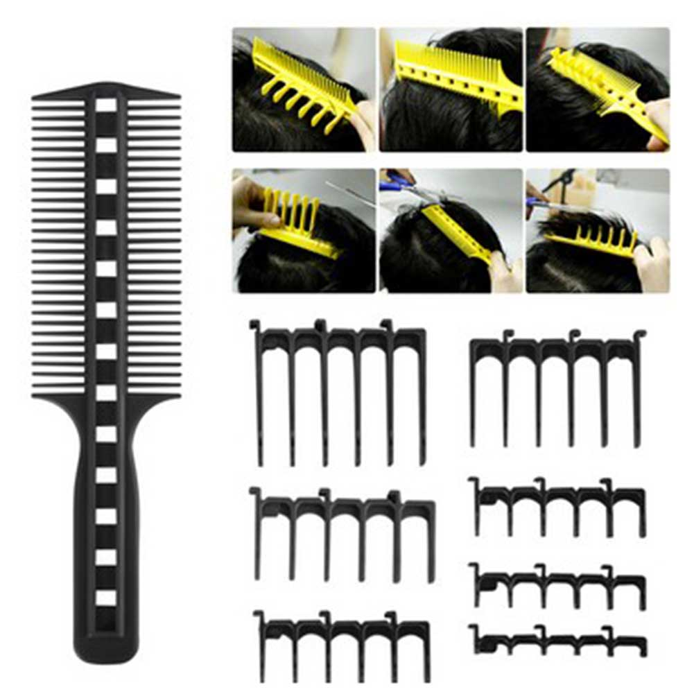 Простой набор для быстрой стрижки волос, расческа для стрижки волос, профессиональные аксессуары для укладки волос, прическа для салона «сд...