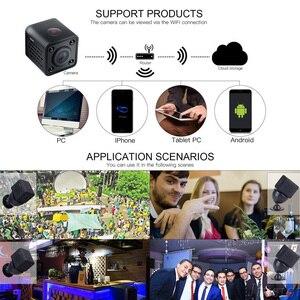 Image 2 - Hdq9 mini wifi câmera hd 1080p vídeo gravador de áudio com visão noturna ir detecção de movimento pequena filmadora sem fio carro micro cam