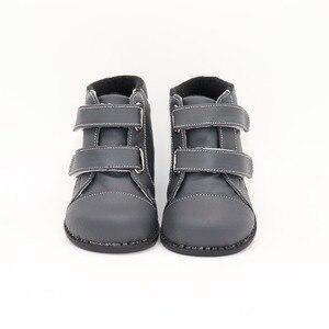 Image 1 - Tipsietoesブランド高品質の革のステッチキッズ子供ソフトブーツ学校の靴男の子2020秋冬雪のファッション