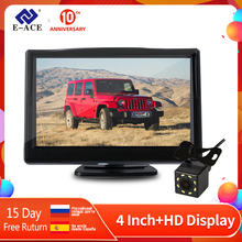 цена на E-ACE J01 Car / Truck Monitor 4.3 Inch TFT LCD Screen with Auto Reversing Parking Line Rear View Camera Reversing Safety