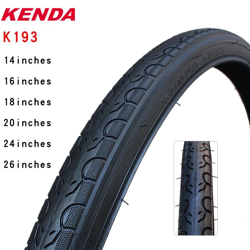 Велосипедная шина Kenda k193, стальная шина 14 16 18 20 24 26 дюймов 1,25 1,5 1,75 20*1-1/8 26*1-3/8, шина для горного велосипеда