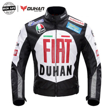 DUHAN Motorcycle Jacket Men Women Windproof Polyester 600D Removable Warm Liner Motorbike Motocross Motorcycle Riding Jacket duhan men s oxford cloth riding motocycle racing jacket coat with cotton liner motocross windproof clothing five protector gear