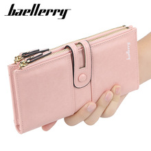 Baellerry Purse Women Long Clutch Wallet Large Capacity Wallets PU Leather Female Purse Lady Purses Card Holder Phone Bag