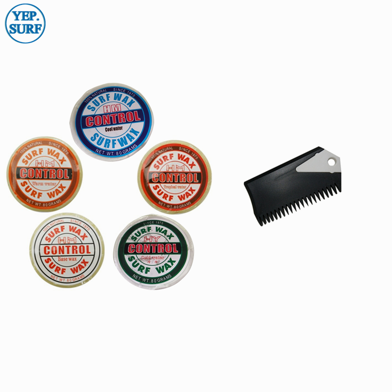 SUP Surfing 1pc Wax Cool/Cold Water Surf Wax Surfboard Wax+Wax Comb+Fin Key Hot Selling
