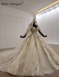 Image 2 - ปิดไหล่Gownsชุดแต่งงาน 2020 ซาอุดีอาระเบียความยาวเม็กซิกันVestido Novia Elegantชุดเจ้าสาวพร้อมVeils
