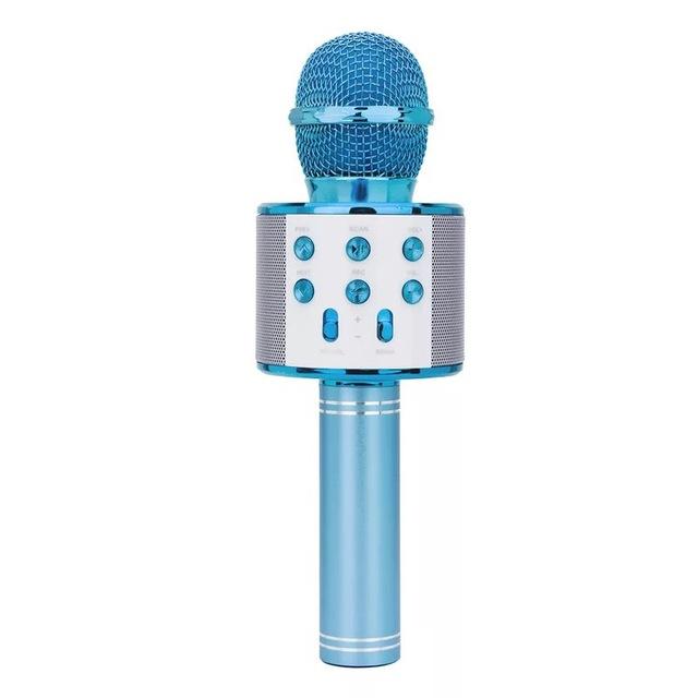 Micrófono Inalámbrico Profecional de Color Brillante