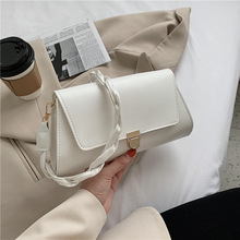 Messenger-Bag Small-Bag Fashion Women's Pu Single Texture This Foreign-Style Autumn Popular