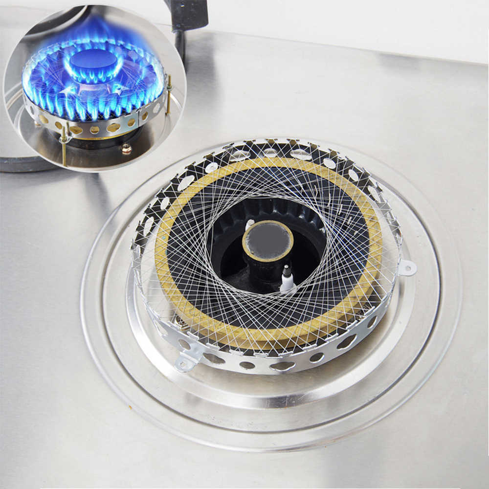 Kinh Tế Bếp Gas Bếp Đèn Pin Lưới Chống Gió Năng Lượng Tiết Kiệm Tròn Bao Ốp Lưng Lưới Phụ Kiện Nhà Bếp