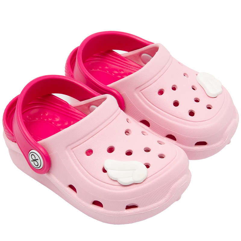 Children Mules Comfort Kids Clogs Toddler Boy Girl Summer Beach Shoes Water Sandals Baby Shoes with Holes Lovely Pattern
