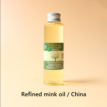 Refined mink oil, sun protection, UV absorption, lubrication, good emulsification, antioxidant and anti-aging grape seed oil refined antioxidant skin protection beauty weight loss superior quality pure natura