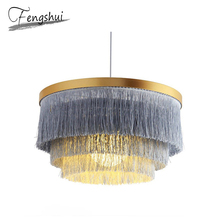 Modern Iron Wire Pendant Lights Lamp Ins Lighting Living Room Cafe Dining Bedroom Study Loft Home Deco Hanging