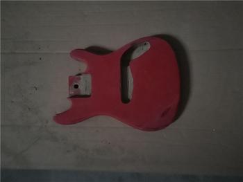 Afanti muzyka DIY gitara zestaw DIY gitara elektryczna ciała (MW-3-549) tanie i dobre opinie none not sure Nauka w domu Do profesjonalnych wykonań Beginner Unisex CN (pochodzenie) Drewno z Brazylii Electric guitar