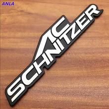 1pcs 3D Aluminum AC-SCHNITZER Car personality labeling car emblem decal Badge for BMW HAMANN Auto Accessories Modification рамка для номера sw bmw hamann