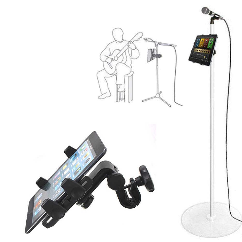 Tablet tutucu için mikrofon standı ABC plastik cep telefonu montaj Apple Iphone için Iphone için 4.5-10.5 ''ereader kindle araç tutucu