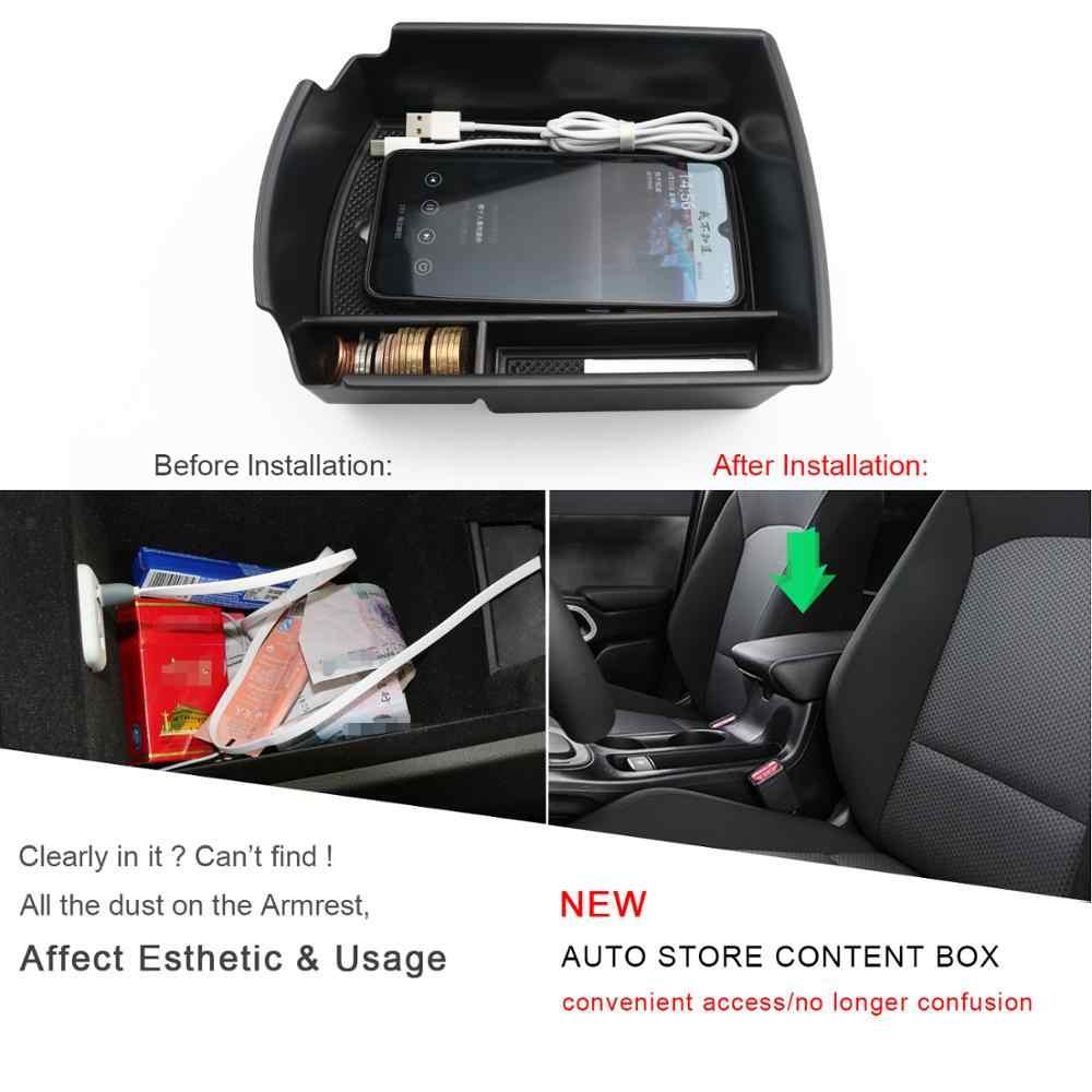 RUIYA רכב משענת תיבת אחסון עבור נשמת מגבר 2020 מרכזית משענת תיבת מיכל אוטומטי פנים Stying אבזרים