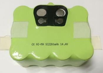 Livraison gratuite 14.4V 2200mAh SC ni-mh nimh batterie paquet nickel métal hydrure batterie pour balayeuse machine robot nettoyeur