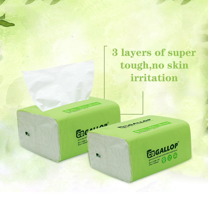 3 Layers Household Paper Toilet Paper Affordable Towels Removable Facial Tissues Wholesale Toilet Paper Napkins 3 Packs / Lift