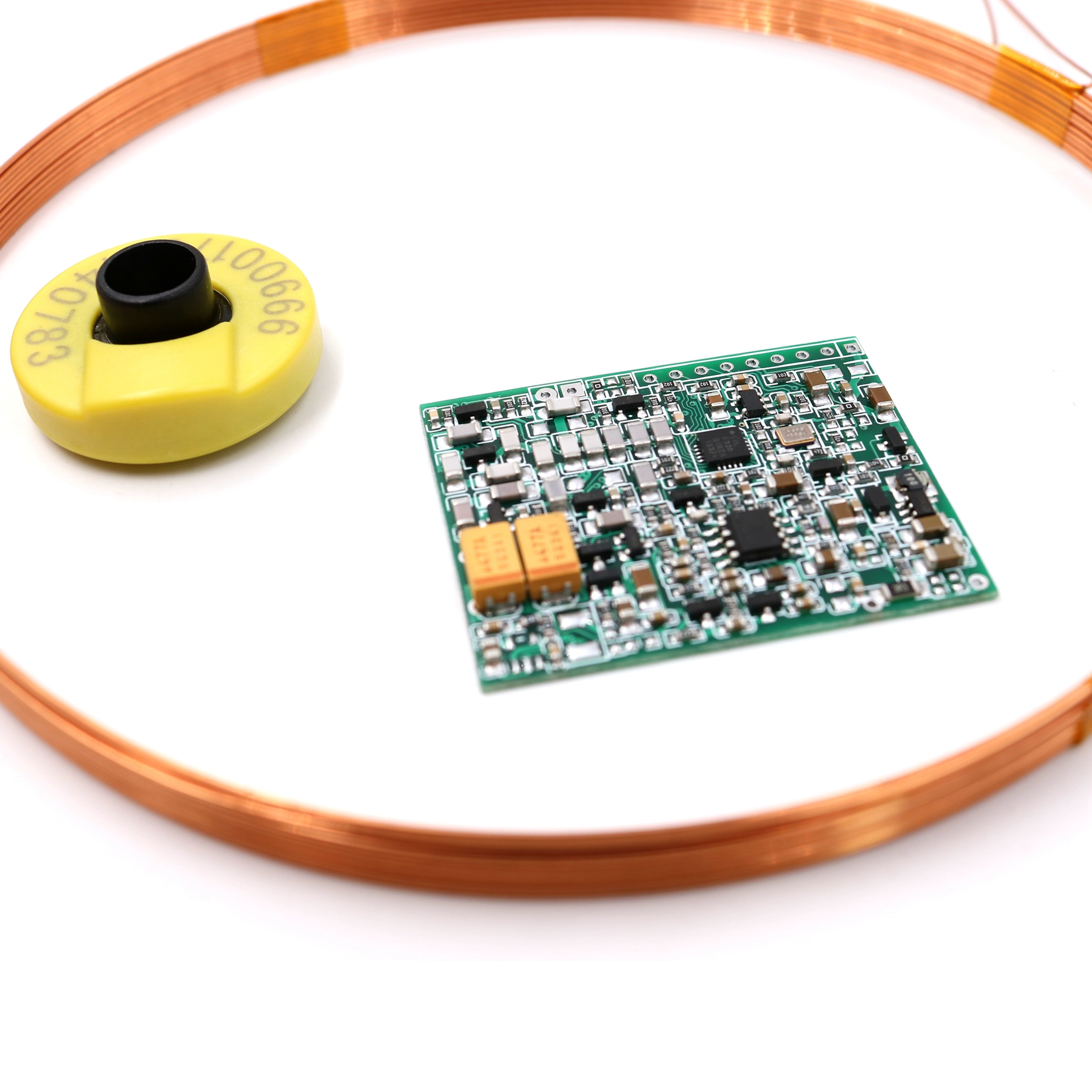 Embedded 5V Long Range AGV 134.2KHz FDX-B ISO11784/85 Long Distance Animal Tag Reader Module