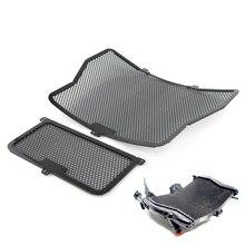 Защита радиатора масло для гриля охладитель крышка протектор для BMW S1000R S1000RR S1000XR HP4 черный 2009