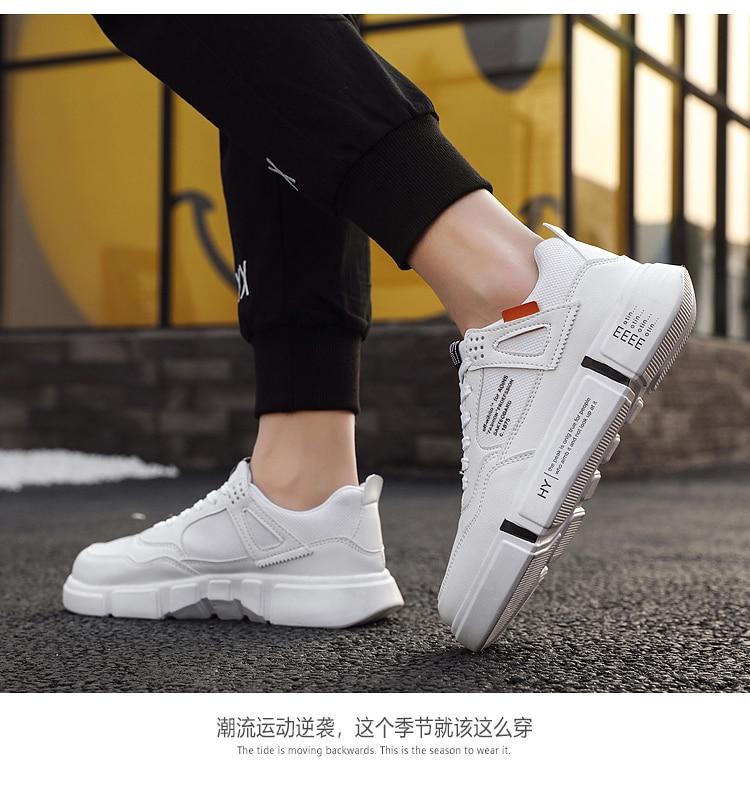 homem sapatos de plataforma sapatos casuais tênis