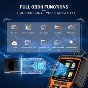 Image 3 - FOXWELL NT301 Plus OBD2 Scanner 12V Batterie Tester Überprüfen Batterien Drucken Motor Lesen Code EOBD OBDII Automotive Auto Diagnose