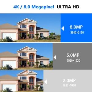 Image 2 - Hiseeu 4K Security Camera System 8CH POE NVR 8MP Outdoor Waterproof POE IP Cameras H.265 CCTV Video Surveillance Kit
