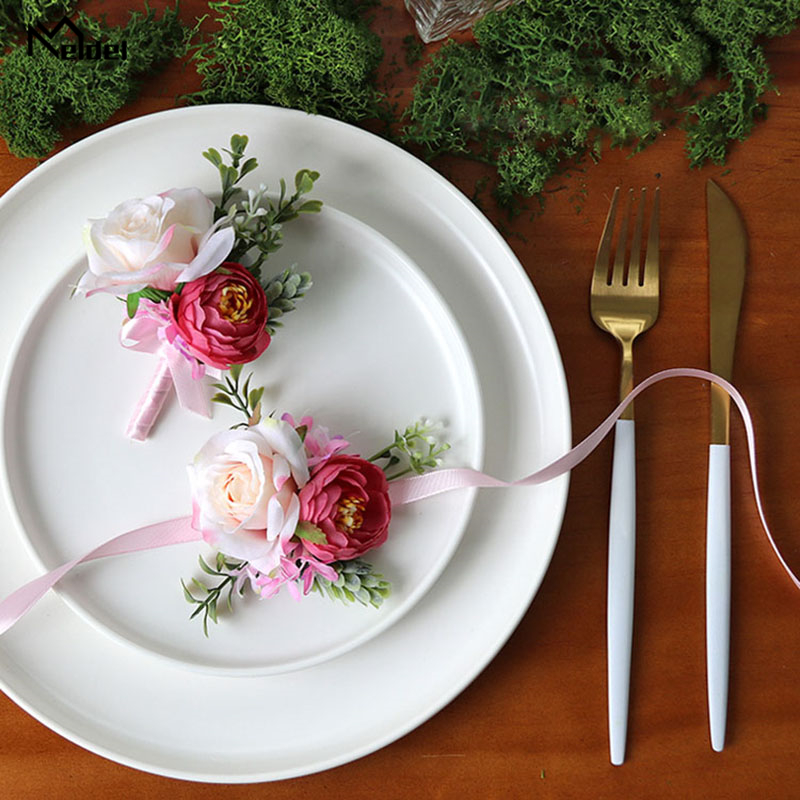 wedding boutonniere wrist corsage marriage (10)