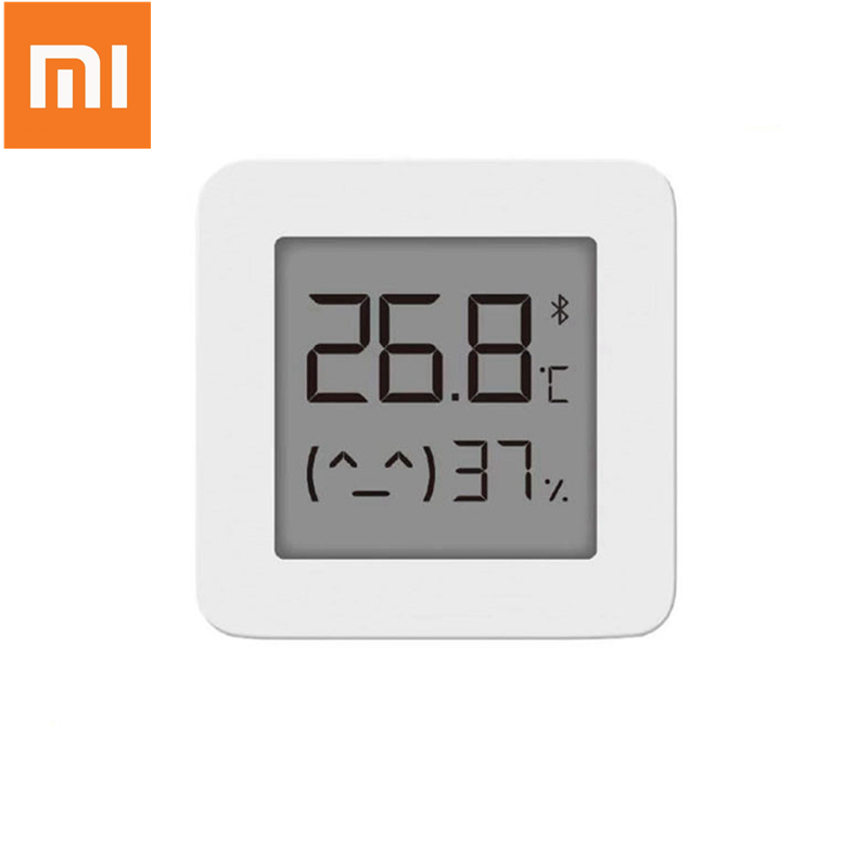 Upgrade XIAOMI Mijia Bluetooth Digital Thermometer 2 Wireless Smart Temperature Humidity Sensor Hygrometer Work With Mijia App