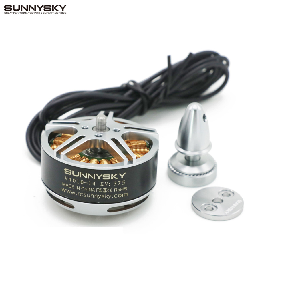 Original Sunnysky V4010 II 450KV 375KV 6S Brushless Motor 300W Motor for DIY Multicopter Quadcopter RC Multicopter image