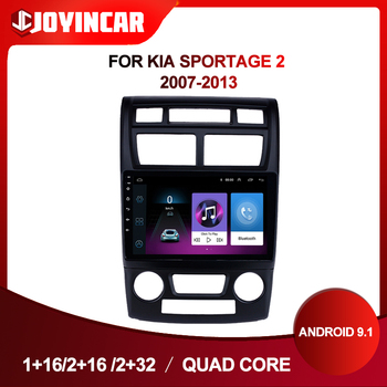 9 2Din Android 9.1 Car Radio Multimedia Video Player For Kia Sportage 2 2007-2013 Car Autoradio GPS Navigation Head Unit image