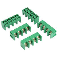 5 Pcs 7.5mm Pitch 4 Position Screw Teminal Blocks Connectors|Connectors|   -