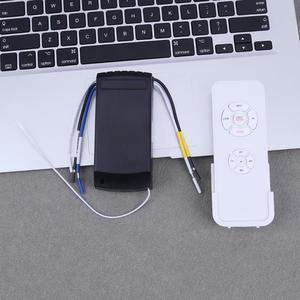 Image 4 - Evrensel Fan ışık uzaktan kumandalı anahtar hız kontrol Model parçaları yol açar + kablosuz uzaktan kumanda tavan vantilatörü lamba yeni