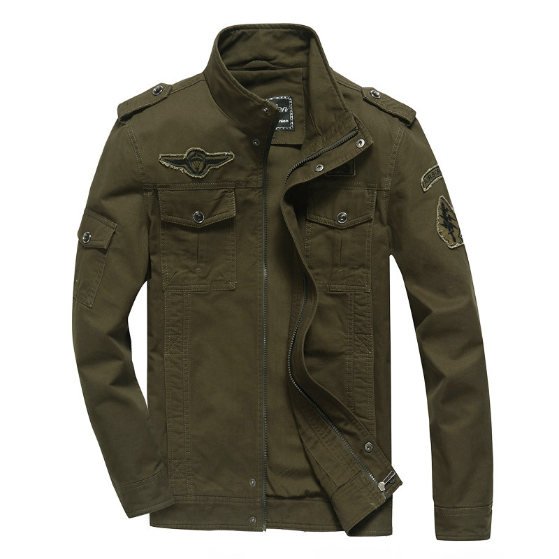 Męska kurtka wiosna jesień duży rozmiar 5XL 6XL mody męskiej młodzieży znosić rozrywka armia Fan kurtka Bomber płaszcze casualowe mężczyzn w Kurtki od Odzież męska na AliExpress - 11.11_Double 11Singles' Day 1