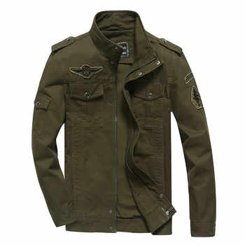 Men's Jacket Spring Autumn Large Size 5XL 6XL Fashion Male Youth Outwear Leisure Army Fan Bomber Jacket Casual Coats Men - DISCOUNT ITEM  28% OFF All Category