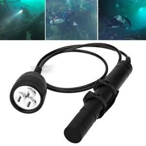 Image 1 - Brinyte DIV10 Tauchen Taschenlampe High Power 150m 3000lm 3x XM L2 LED mit 2M Draht Länge für Professionelle dive