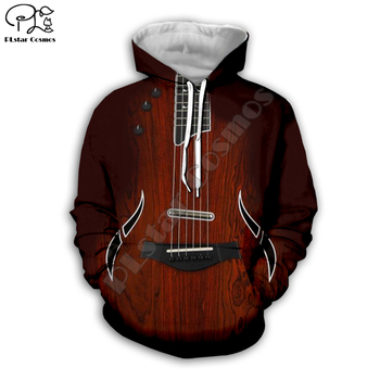 men women classical violin Guitar Print 3d hoodies sweatshirt zipper coat Unisex streetwear Hip-hop Casual Tracksuit pullover G6 fashion man 2018 winter thick hoodies hip hop unisex zipper sweatshirt harajuku astronaut 3d sexy jacket for men casual coat top