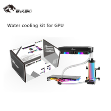 Liquid-Cooler-Kit Copper-240mm-Radiator Bykski 120mm Hose-Cooling-Bundle/soft for Pu-Kit