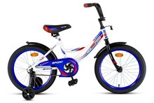 Детский велосипед MaxxPro - Sport 18 (2020) Цвет: Белый / Синий / Красный (18-3)
