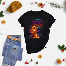 Black skin beauty stripes heat-sensitive patches applique thermo stickers on clothes iron on transfers for clothing custom G1