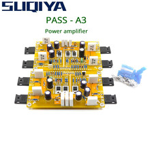 SUQIYA-PASS a3 classe a kit amplificador de potência acabado, placa terminada 30w + 30w suportes equilibrados e entradas desequilibradas