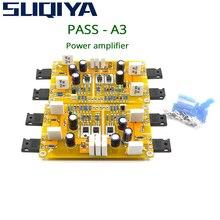 SUQIYA PASS A3 Single Ended Class A Power Verstärker Kit Fertige Board 30W + 30W Unterstützt ausgewogene und unsymmetrische eingänge